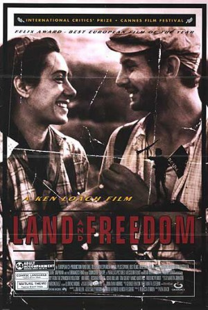 Poster from Ken Loach's Land and Freedom